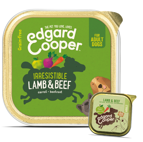 Edgard & Cooper Lamb And Beef Tray - HOUNDS