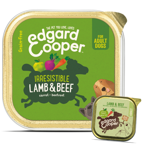 Edgard & Cooper Lamb & Beef With Apple And Carrot - HOUNDSONLINE
