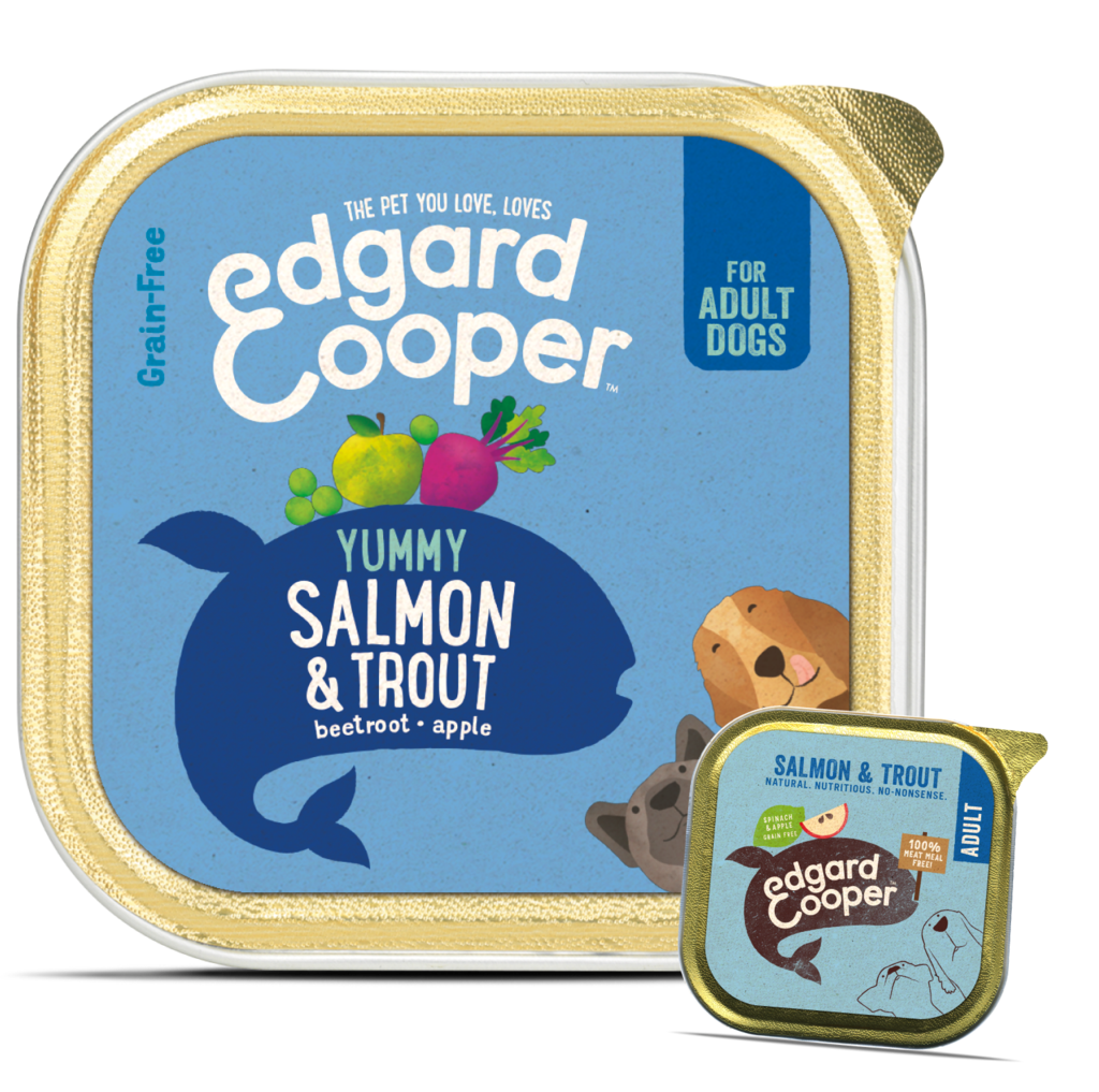 Edgard & Cooper Salmon & Trout With Spinach And Apple - HOUNDSONLINE