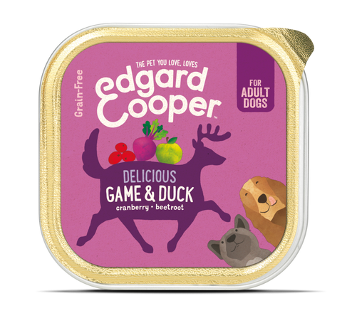 Edgard & Cooper Game & Duck With Carrot And Cranberry - HOUNDSONLINE