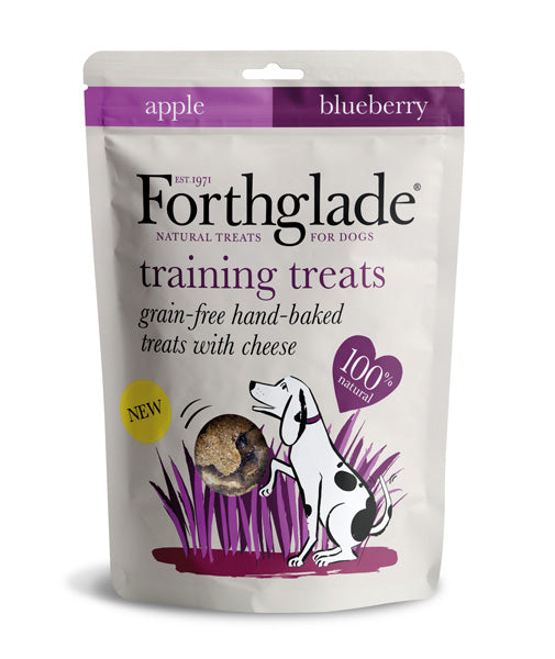 Forthglade Grain Free Dog Treats with Cheese, Apple And Blueberry - HOUNDS