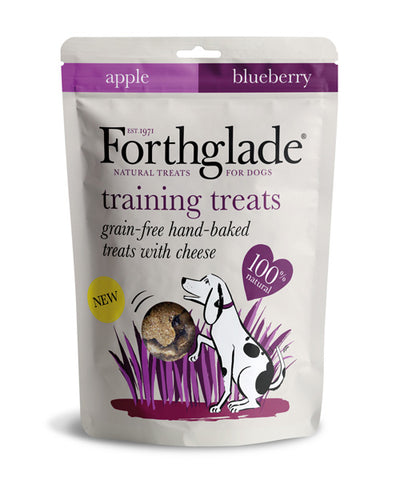 Forthglade Grain Free Dog Treats with Cheese, Apple And Blueberry - HOUNDSONLINE