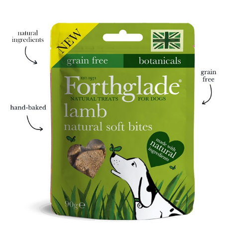Forthglade Soft Bite Treats With Lamb