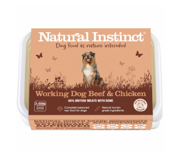 Natural Instinct Working Dog Beef - HOUNDS