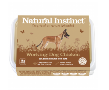 Natural Instinct Working Dog Chicken - HOUNDS