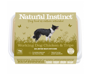 Natural Instinct Working Dog Chicken & Tripe - HOUNDS