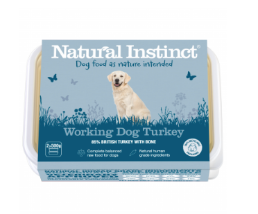 Natural Instinct Working Dog Turkey - HOUNDS