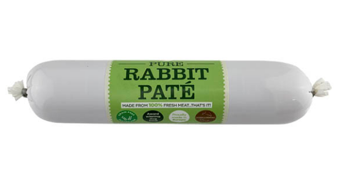 JR Pure Rabbit Pate For Dogs Small - HOUNDS