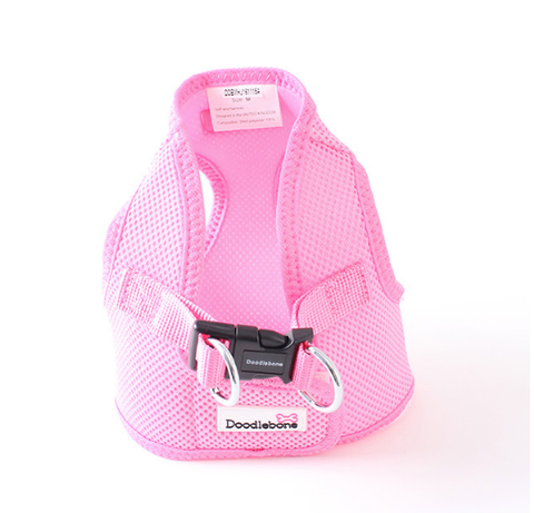 Doodlebone Snappy Dog Pink Harness - HOUNDSONLINE