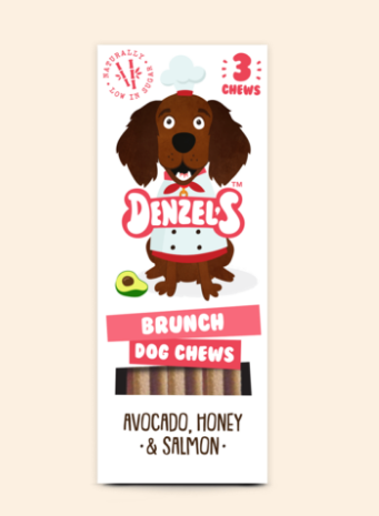 Denzel's Superfood Brunch Dog Chews - HOUNDSONLINE