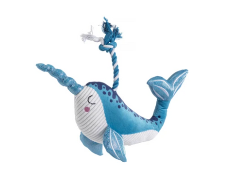 House Of Paws Mythical Sea Narwha Toy