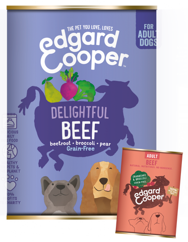 Edgard & Cooper Beef, Cranberry & Brocolli - HOUNDS