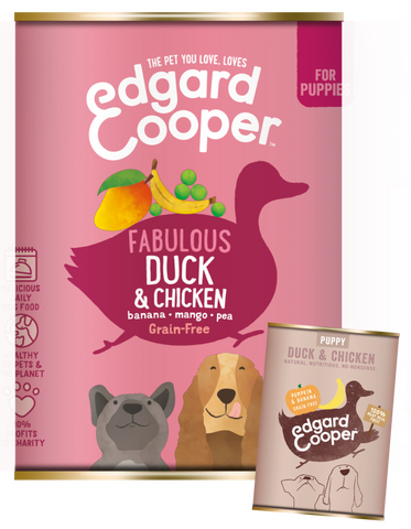 Edgard & Cooper Puppy Duck & Chicken - HOUNDSONLINE