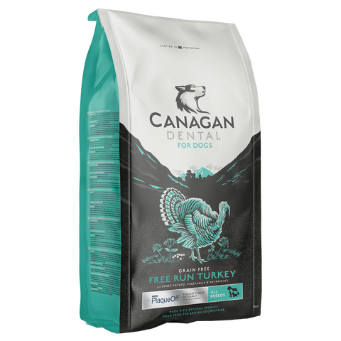 Canagan Free Run Turkey Dental For Dogs - HOUNDSONLINE