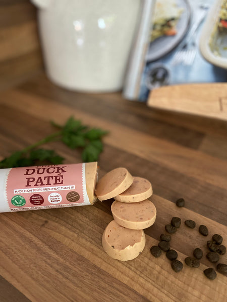 JR Pure Duck Pate For Dogs Small - HOUNDSONLINE