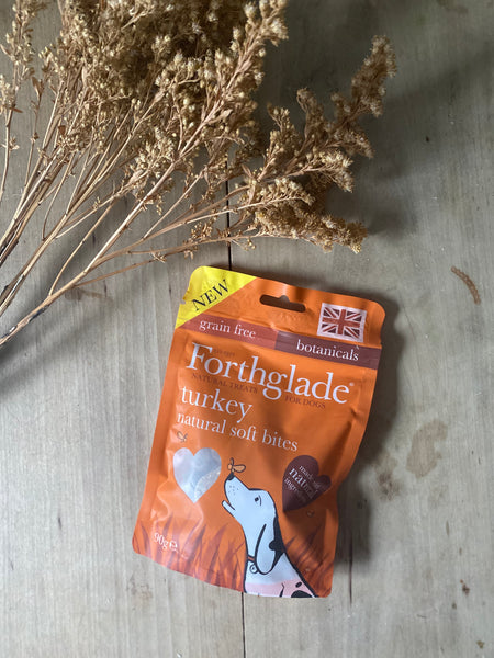 Forthglade Soft Bite Treats With Turkey