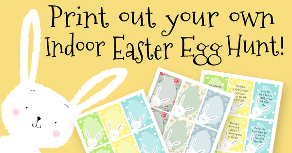 photo relating to Printable Easter Egg Hunt Clues referred to as Indoor Easter Egg Hunt - totally free printables! Sherbet Lane