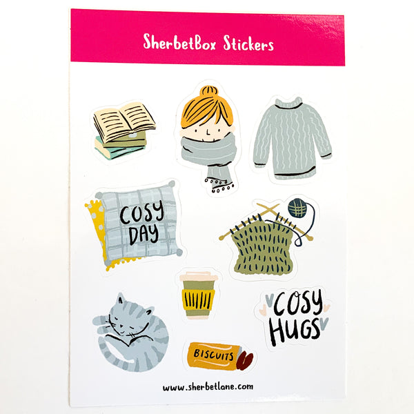 Stickers - warm and cosy