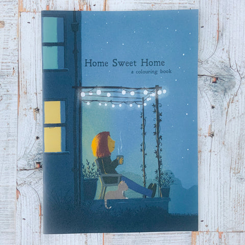 Colouring Book - Home Sweet Home