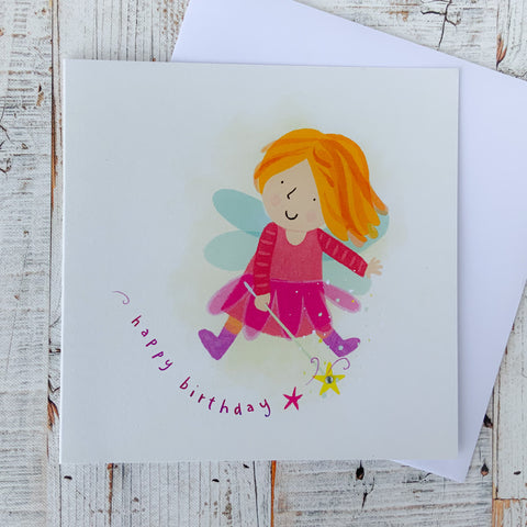 Greeting Card - Birthday Fairy