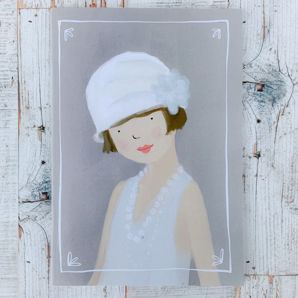 A5 Notebook - Flapper Girl