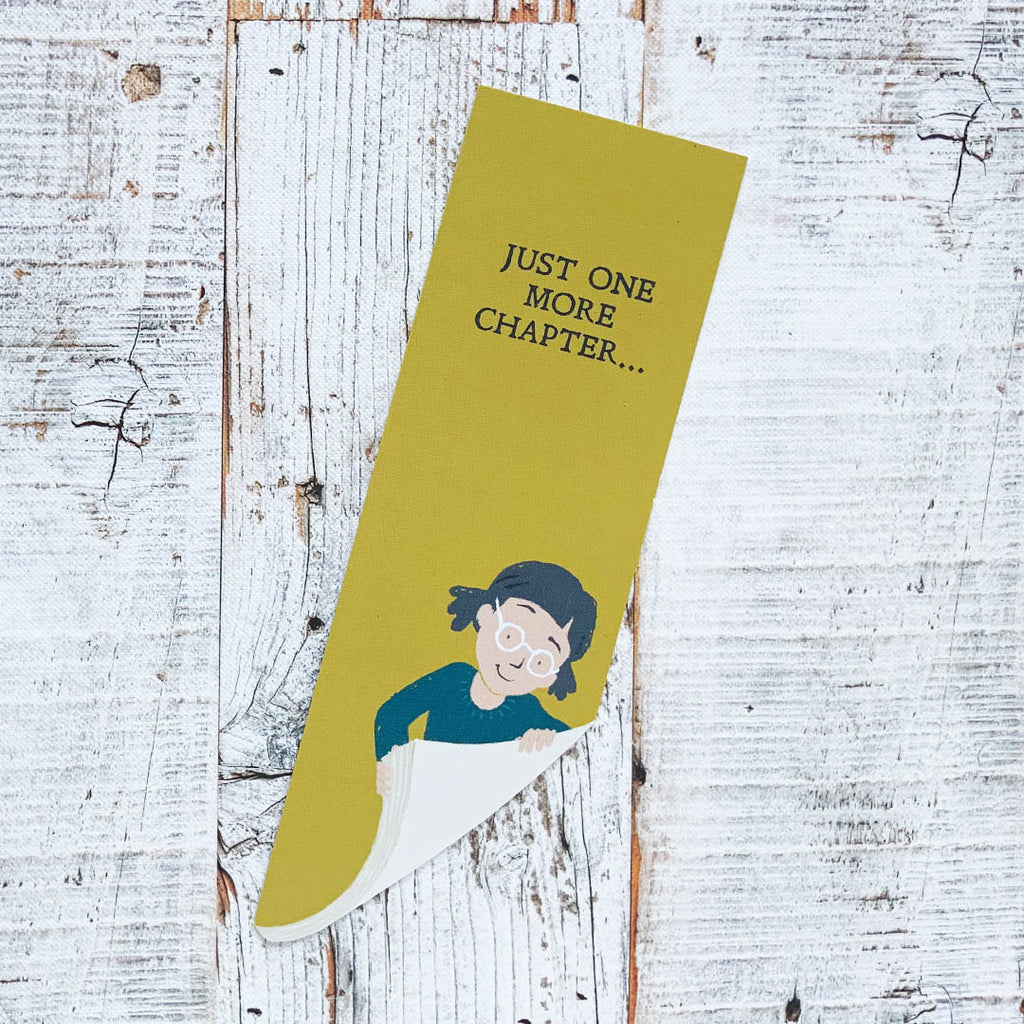 Bookmark - just one more chapter