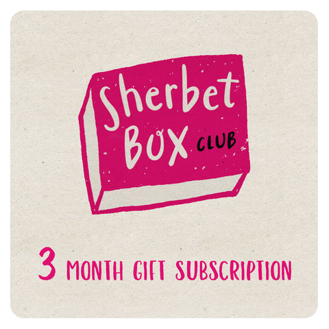 SherbetBox Club - 3 month gift subscription