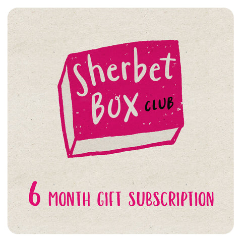 SherbetBox Club - 6 month gift subscription