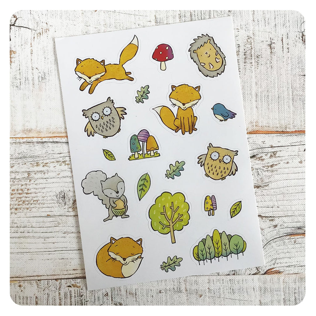 Stickers - woodland