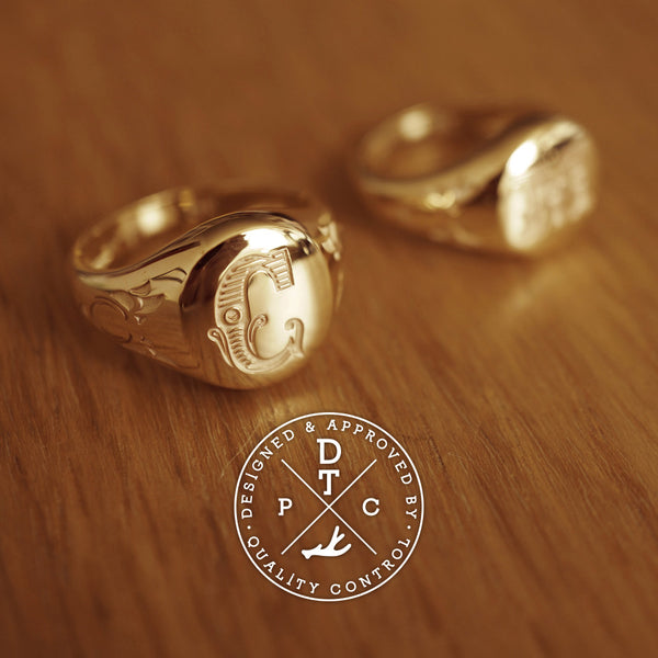 Tailor-made 8K Yellow Gold Da Sigmå Rings