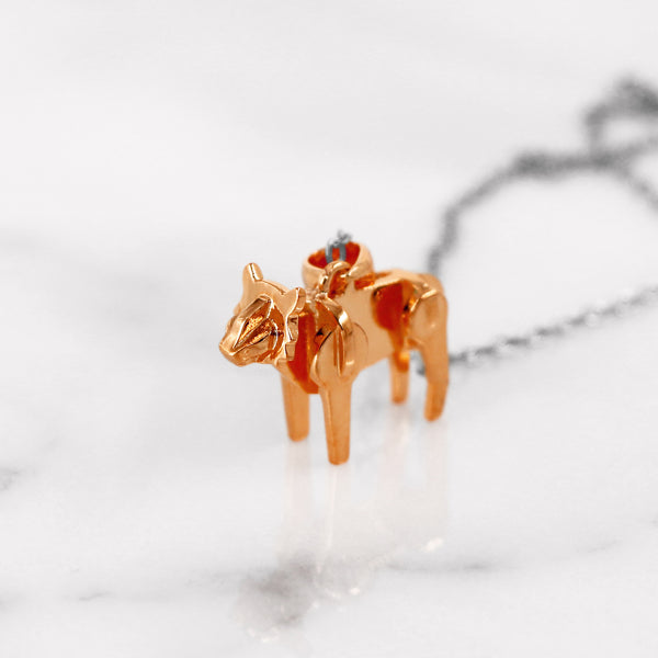 Da Tiger Pendant - Rose Gold