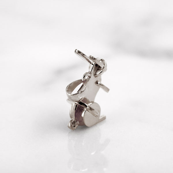Da Rabbit Pendant - 925 Sterling Silver