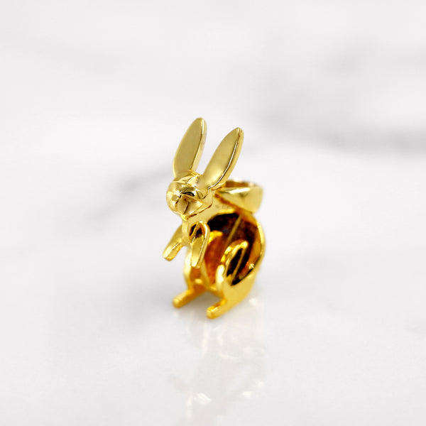 Da Rabbit Pendant - Yellow Gold