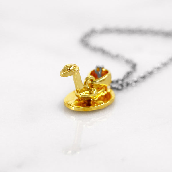 Da Snake Pendant - Yellow Gold