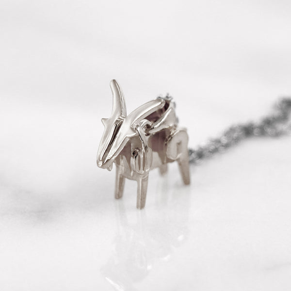 Da Sheep Pendant - 925 Sterling Silver