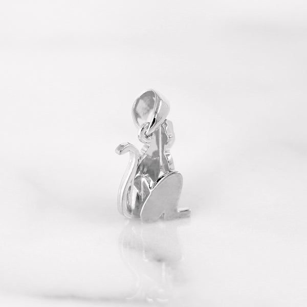 Da Monkey Pendant - White Gold