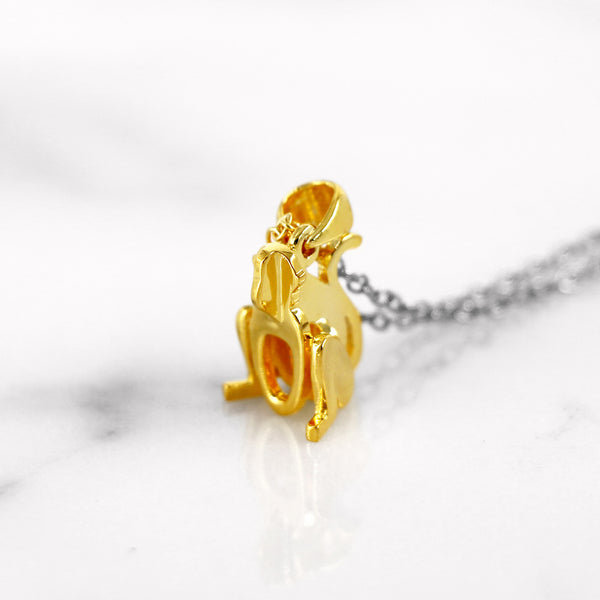 Da Monkey Pendant - Yellow Gold