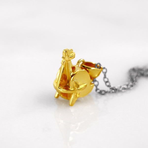 Da Rooster Pendant - Yellow Gold