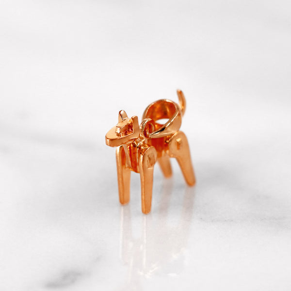 Da Dog Pendant - Rose Gold