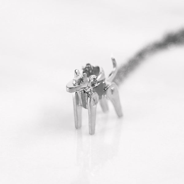 Da Dog Pendant - White Gold