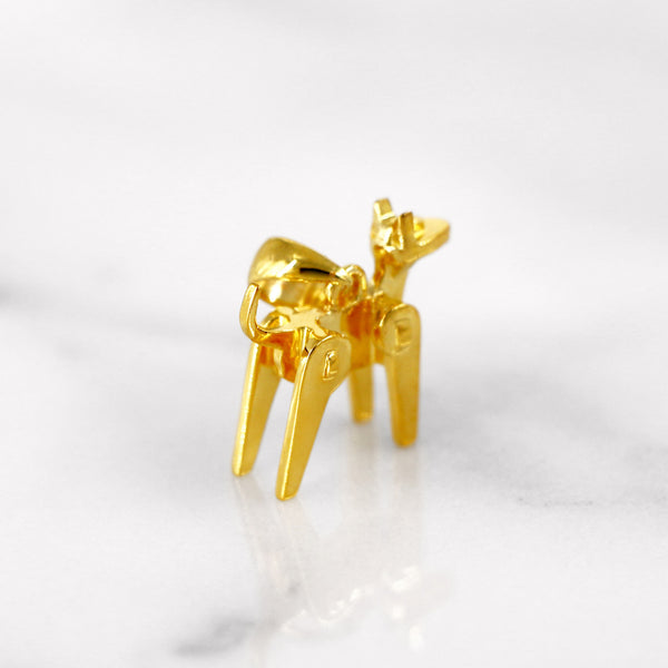 Da Dog Pendant - Yellow Gold