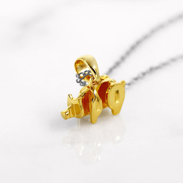 Da Pig Pendant - Yellow Gold