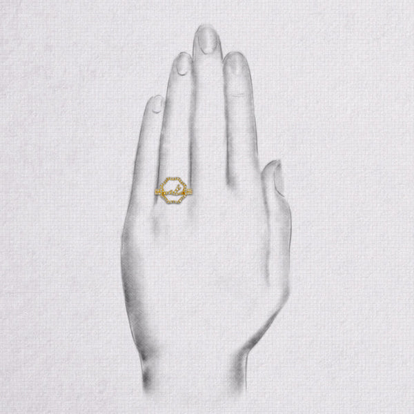 Da Artus Ring - Yellow Gold