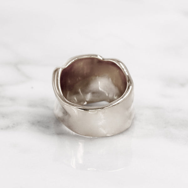 Da Bone Ring (Index Finger) - 925 Sterling Silver