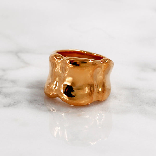 Da Bone Ring (Index Finger) - Rose Gold