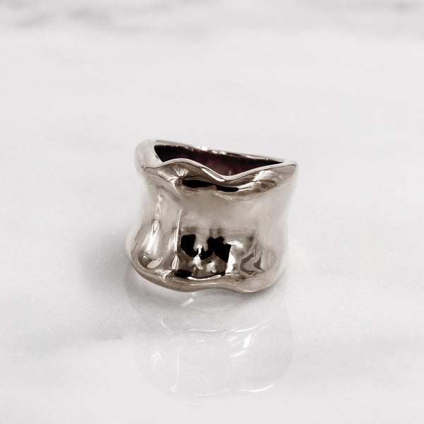 Da Bone Ring (Pinky) - 925 Sterling Silver