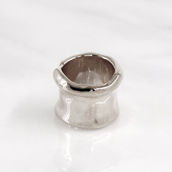 Da Bone Ring (Ring Finger) - 925 Sterling Silver