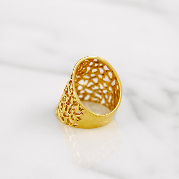Da Breeze Ring - Yellow Gold
