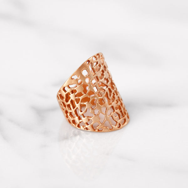 Da Breeze Ring - Rose Gold Matte