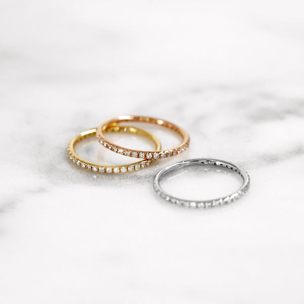 Da Clair Ring - Rose Gold